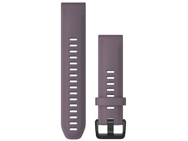 Garmin QuickFit Silikon Uhrenband 20mm für Fenix 6S purple
